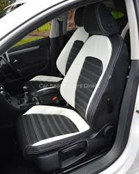 vw passat cc genuine fit tailored waterproof seat covers black beige fronts only