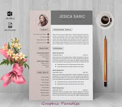 Professional Resume Template Instant Download Resume Template 3