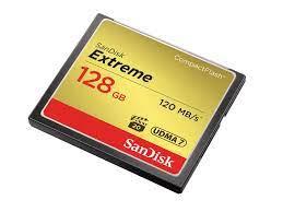 Thẻ Nhớ CompactFlash (CF) SanDisk Extreme 128GB 800X – TUẤN KHANH