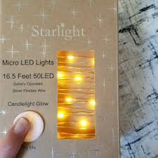 Micro Led Battery Operated Fairy Lights New In Box Depop
