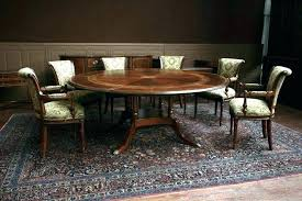 48 inch round table dark walnut finish how many people can sit legs