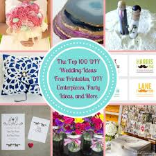 Diy Party Printables The Top 100 Diy Wedding Ideas Free Printables Diy