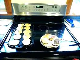 cast iron on glass stove griddle for glass top stove cast iron griddle electric stove electric