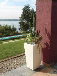 italian interior designer luisa bocchietto has created the entire kabin line a large family of garden planters illuminated pots