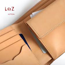 sewing pattern short wallet patterns pdf cdd 14 lzpattern design hand stitched leather patterns leather art