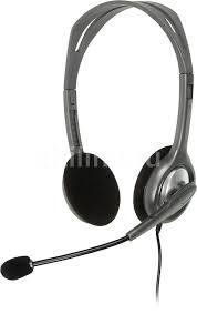 Купить <b>Гарнитура LOGITECH Stereo</b> H110, серебристый в ...