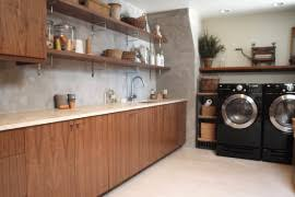 organize your laundry room in style bright modern laundry room
