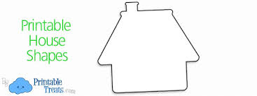 Printable House Shapes Printable Treats Com