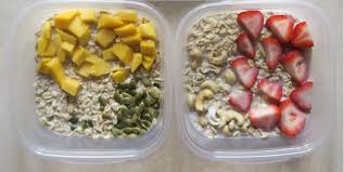 Weekly Lunch Prep Overnight Oats Master Recipe