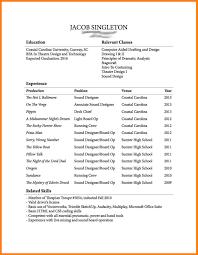 Sample College Freshman Resume 100 college freshman student resume samples graphicresume 23