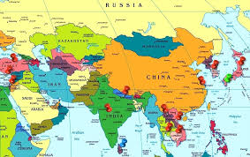 World Map Europe And Asia Southern Map Europe Asia Political Jonespools Info