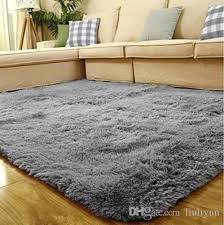 ultra soft gy area rugs fluffy living room carpet kids anti skid bedroom floor mats big size smooth fur rugs fluffy rugs carpet costs carpet floor tiles