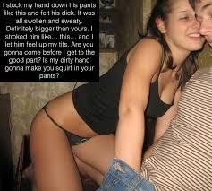 Girl makes him cum in pants