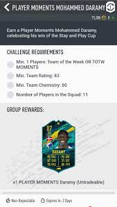 Mohammed Daramy Requirements: FIFA