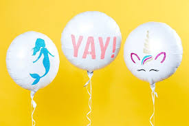 5 beautiful diy balloon ideas you can make at home balloons decorated with colourful glitter designs