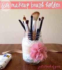 mason jar makeup brush holder. 4 mason jar makeup brush holder