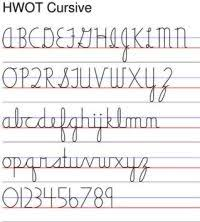 Bob Jones Cursive Chart 36 Best Alphabet Fonts Images