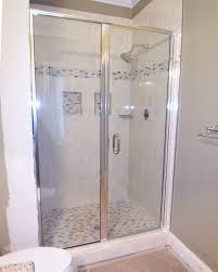 framed glass shower doors. Semi Frameless Door And Panel Framed Glass Shower Doors
