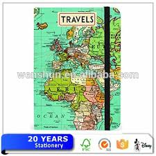 Personalized Graph Paper Travel Themed Notebook Buy Travel Themed