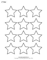 printable star star outline printable star templates free blank shape pdfs 2