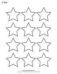 printable star star outline printable star templates free blank shape pdfs 2