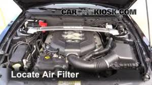 interior fuse box location 2010 2014 ford mustang 2012 ford 2010 2014 ford mustang engine air filter check