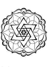 Disegni Geometrici Per Bambini Da Colorare Mandala Per Bambini