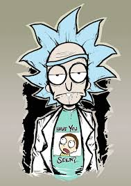 Rick And Morty Designs Rick And Morty Print By Destroyyourhead Rick Morty Dan