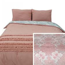 avaleigh pink white gray twin comforter