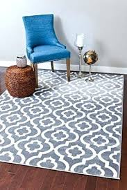 white chevron area rug gray