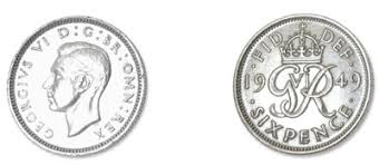 Image result for old sixpence