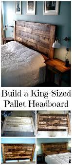 Headboard Bench Plans Best 25 King Size Headboard Ideas On Pinterest Farmhouse Beds