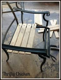 How To Paint Outdoor Furniture With Sling Seats  InMyOwnStyleRedoing Outdoor Furniture