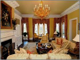 Yellow Wall Living Room Decor Decoration Curtains For Living Room With Brown Furniture Yellow