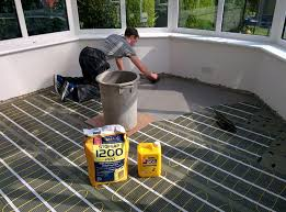 Installation Of Underfloor Electric Heating Images