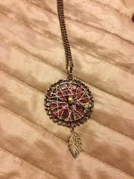 Dream Catcher Neclace Extraordinary How To Make A Dream Catcher Necklace Snapguide
