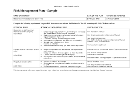 Business Risk Management Plan Template 24 best images of business risk management plan template team 1