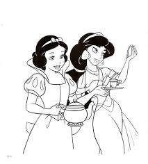 Cartoons Coloring Pages: Princess Jasmine Coloring Pages