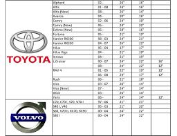 Wiper Blade Size Chart Honda New Design Silicone Wiper Blade Proton Perodua Toyota Nissan Honda 14 16 17 18 19 20 21 22 24 26