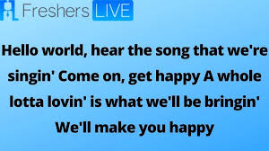 Chorus oh i could sing unending songs of how you saved my soul well i could dance a thousand miles because of your great love verse 1 yeah! Come On Get Happy Lyrics Explore The Lyrics Of Full The Partridge Family Come On Get