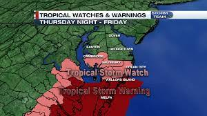 Tropical Storm Watches & Warnings ...