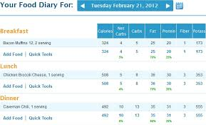 Calorie Charts Net Configuring Myfitnesspal For Keto Success