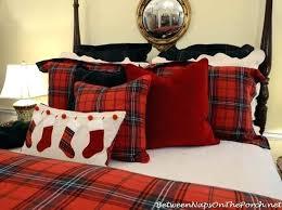 tartan bedding sets comforter tartan plaid bedding sets