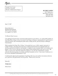 Cover Letter Cover Letter Samples For Administrative Assistants