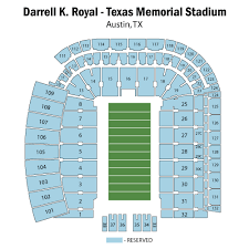 Mccombs Field Seating Chart Darrell K Royal Texas Memorial Stadium Texas Longhorn