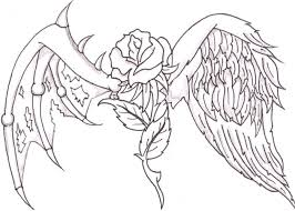 Printable Angel Coloring Pages For Adults At Getcoloringscom Free