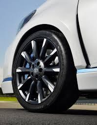 Alloy wheel of the Toyota Yaris Hybrid-R - Indian Autos blog