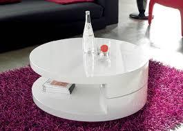 modern round swivel coffee table tr 10