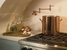 Kitchen Pot Filler Faucets Faucetcom D205057ac In Antique Copper By Danze