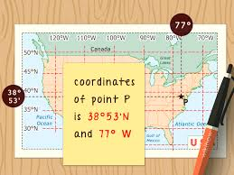 Latitude Scale Chart How To Read Latitude And Longitude On A Map 11 Steps